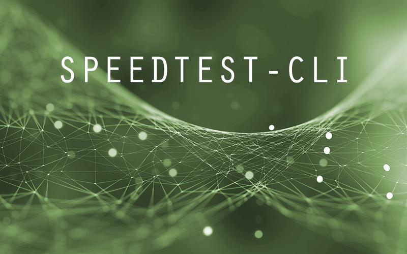 Speedtest via Linux-CLI mit speedtest-cli